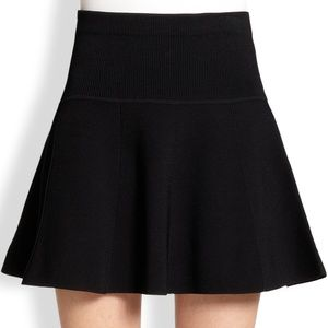 Rag & Bone Women's Ribbed Isla Flared Circle Skirt